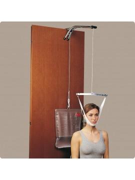 Trazione cervicale Set completo con sacca ad acqua o in tela